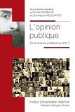 Romain Rambaud et Dominique Andolfatto - L'opinion publique - De la science politique au droit ?.