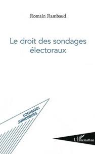 Le droit des sondages électoraux.pdf