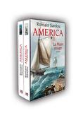 Romain Sardou - America  : Coffret 2 volumes - Tome 1, La Treizième Colonie ; Tome 2, La Main Rouge.
