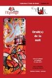 Romain Vaillant - Droit(s) de la nuit.
