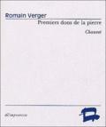 Romain Verger - Premiers dons de la pierre (Chauvet).
