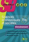 Romain Zolla et Joachim Dornbusch - Sciences économiques et sociales Tle ES - Entraînement.