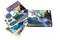 Roman Garcia Mora et Giuseppe Brillante - Le plésiosaure et les grands reptiles aquatiques - Coffret Livre + modèle 3D.