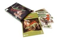 Roman Garcia Mora et Giuseppe Brillante - Le stégosaure et les dinosaures herbivores - Coffret Livre + modèle 3D.