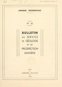 Roman Karpoff et  Service de géologie et prospec - La géologie de l'Adrar des Iforas (Sahara central) - Thèse soutenue à Paris le 16 avril 1958.