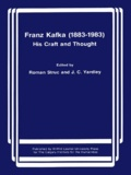 Roman Struc et John Yardley - Franz Kafka (1883-1983) - His Craft and Thought.