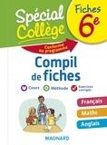 Romane Yao et Stéphane Renouf - Compil de fiches 6e - Français, Maths, Anglais.