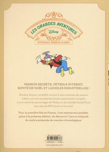 Les grandes aventures - Intégrale Romano Scarpa Tome 8 1962/1963. Oncle Picsou contre Lord Hambar et autres histoires