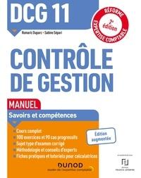 Romaric Duparc et Sabine Sépari - DCG 11 Contrôle de gestion - Manuel - 2e éd..