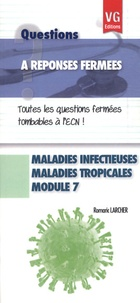 Maladies infectieuses, maladies tropicales, module 7 - Romaric Larcher pdf epub