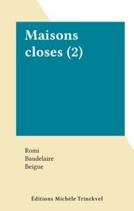 Romi et  Baudelaire - Maisons closes (2).