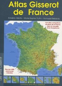Romuald Belzacq et Frédéric Miotto - Atlas gisserot de france.