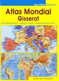 Romuald Belzacq et Frédéric Miotto - Atlas mondial Gisserot.