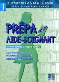 Romuald Jankow et Colette Barrios - PREPA AIDE-SOIGNANT. - 2ème édition.