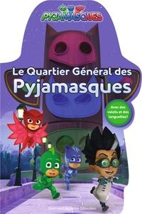 Romuald - Le quartier général des Pyjamasques - Avec des volets et des languettes !.