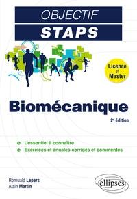Romuald Lepers et Alain Martin - Biomécanique.