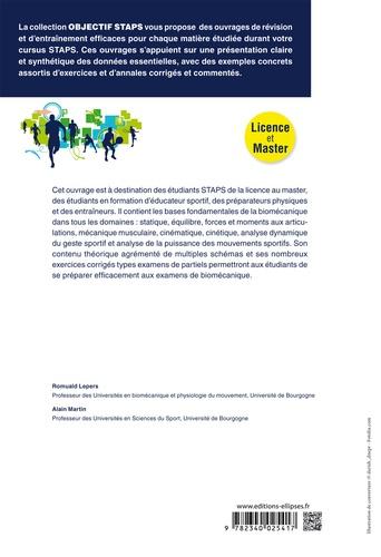 Biomécanique 2e édition