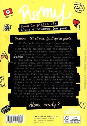 Romy  Dans la p'tite vie d'une étudiante (ou pas !)
