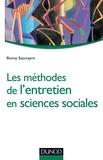 Romy Sauvayre - Les méthodes de l'entretien en sciences sociales.