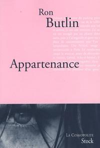 Ron Butlin - Appartenance.