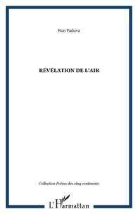 Ron Padova - Revelation de l'air.
