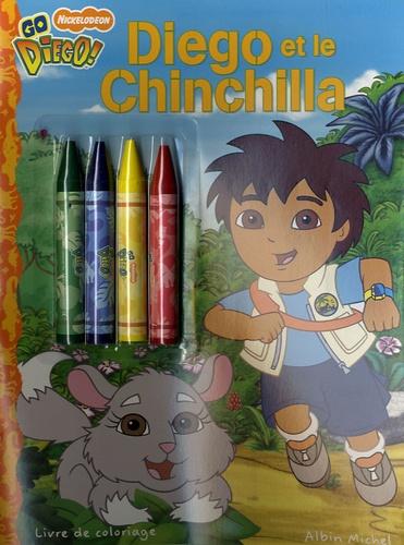 Ron Zalme et Ligiah Villalobos - Diego et le Chinchilla - Livre de coloriage.