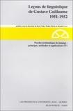 Ronald Lowe et Roch Valin - Psycho-systématique du langage : principes, méthodes, et applications (IV).