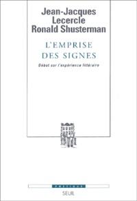 Ronald Shusterman et Jean-Jacques Lecercle - .