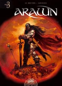 Ronan Le Breton et Sébastien Grenier - Arawn  : Tome 1, Bran le maudit ; Tome 2, Les liens du sang ; Tome 3, La bataille de Cad Goddun.