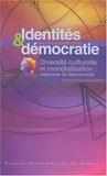 Ronan Le Coadic - Diversité culturelle et mondialisation : repenser la démocratie - Identités et démocratie, Rencontres internationales de Rennes.