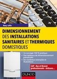Rony Lollia - Dimensionnement des installations sanitaires et thermiques domestiques.