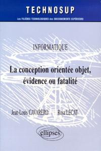 La conception orientée objet, évidence ou fatalité - Rosa Lecat  