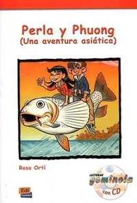 Rosa Orti - Perla y Phoung - Una aventura asiatica. 1 CD audio