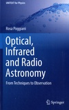 Rosa Poggiani - Optical, Infrared and Radio Astronomy - From Techniques to Observation.