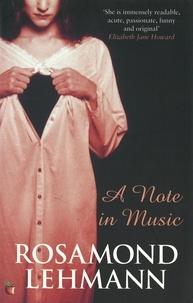 Rosamond Lehmann - A Note In Music.