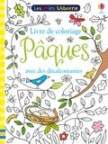 Rosamund Smith et Ruth Russell - Livre de coloriage avec décalcomanies Pâques.