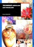 Rosane Baptistella - Technique américaine sur porcelaine.