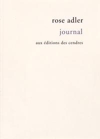 Rose Adler - Journal (1927-1959).