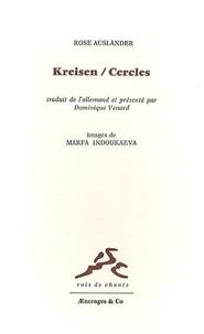 Rose Ausländer - Cercles - Edition bilingue français-allemand.
