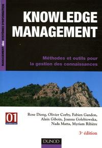Knowledge management - Méthodes et outils pour la gestion des connaissances.pdf