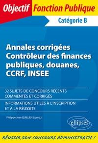 Annales corrigées Contrôleur des finances publiques, douanes, CCRF, INSEE.pdf