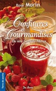 Rose Morin - Confitures et Gourmandises - confitures, marmelades et boissons à faire soi-même.