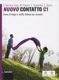 Rosella Bozzone Costa et Monica Piantoni - Nuovo Contatto C1 - Corso di lingua e civiltà italiana per stranieri. 1 Cédérom + 1 DVD