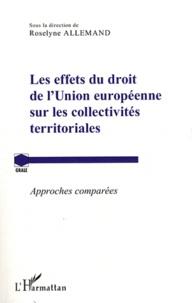 Deedr.fr Les effets du droit de l'Union européenne sur les collectivités territoriales - Approches comparées Image