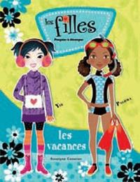 Roselyne Cazazian - Les filles partent en voyage.