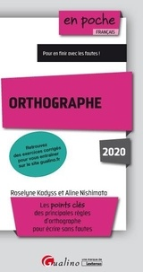 Roselyne Kadyss et Aline Nishimata - Orthographe.