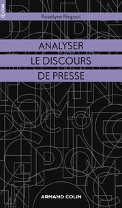 Roselyne Ringoot - Analyser le discours de presse.