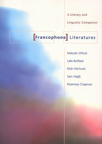 Goodtastepolice.fr Francophone Literatures. A Literary and Linguistic Companion Image