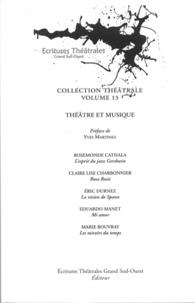 Rosemonde Cathala et Claire-Lise Charbonnier - Théâtre et musique.