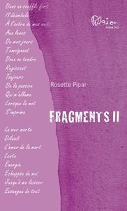 Rosette Pipar - Fragments II.